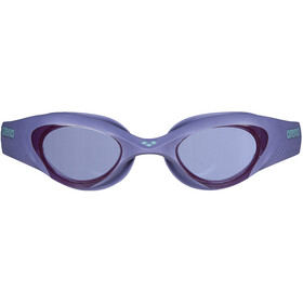 arena The One Schwimmbrille Damen smoke/violet/turquoise